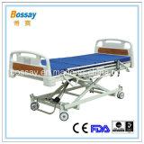 O tipo três comercial funciona base ajustável da base paciente