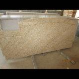 Partie supérieure du comptoir jaune bon marché de cuisine de granit de la Chine G682