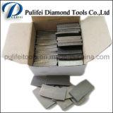 Segmento de mármol de acero sierra circular de diamante de la cuchilla de corte