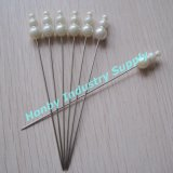 Extra Long 93mm Couleurs assorties Pearl Decorative Stick Pins