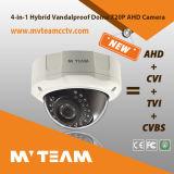 Análogo caliente Cvi Tvi de Hybird Ahd de la cámara de la bóveda de la visión nocturna de la cámara de vídeo 720p 1MP de China