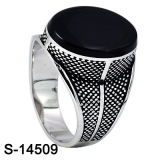 Ultimo Design Fashion Jewelry Silver Ring per Man (S-14489, S-14489D, S-14489, S-14509, S-14509B, S-14509D)