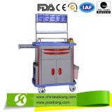 Carretilla/carro de lujo de la medicina de Meical del hospital de la alta calidad Skr032
