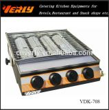 Power-Savehandelsgrill-Ofen, grosser Gas 4-Heads BBQ-Ofen (VDK-708)