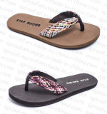 Fabric Beach Sandal (RF15067)女性の