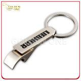 個人化される長方形の金属のキーのホールダーを刻む