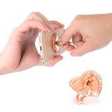 Support universel aimant de doigt de diamants de luxe de boucle et de crochet de téléphone mobile de doigt en métal de 360 degrés