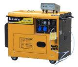 5kw de stille Diesel van het Type van Luxe Reeks van de Generator met Ronde Dekking (DG6500SE met ATS)