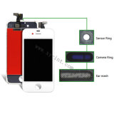 Экран LCD вспомогательного оборудования черни/сотового телефона для iPhone 4G LCD