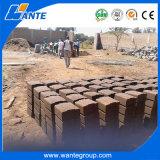 Tijolo de bloqueio/bloco da lama Wt1-20 contínua que faz a máquina