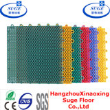 Maintenanceに容易Fade無しInterlocking Sports Flooring