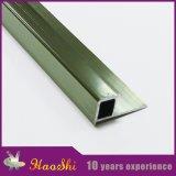 Ajuste de aluminio de la baldosa cerámica del perfil de la protuberancia del color de bronce
