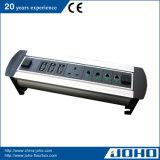 Tipo elétrico giratório soquete do soquete de alumínio da tabela do Desktop