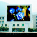 Écran polychrome extérieur de P16 DEL pour la publicité