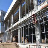 De aangepaste Structuur van de Bundel van het Staal van de Bouw van het Winkelcomplex Ruimte