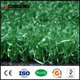 Preiswerter grüner synthetischer künstlicher setzender Gras-Teppich für Freizeit-Platz