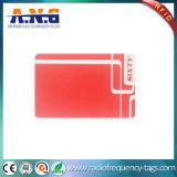 Smart card do PVC RFID da impressão Offset resistência de 100000 vezes