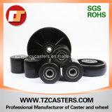 Rodillo de nylon negro de la rueda de Mc