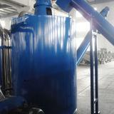 máquina de lavar do plástico dos flocos do animal de estimação do frasco 500kg e da sucata