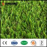 Sunwing 새로운 디자인 녹색 Artificila 잔디 양탄자
