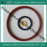 Selos personalizados da selagem do anel-O da borracha de silicone para a parte moldada