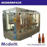 Bière mis en bouteille automatique 3 dans 1 machine de remplissage