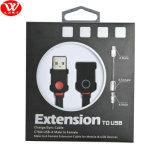 кабель USB выдвижения 1.5meters