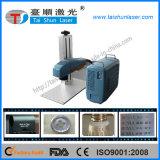 30W portátil máquina de la marca Mini láser de fibra