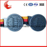 普及した様式の締縄が付いている安いカスタム金属賞メダル