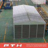 PU 샌드위치 벽면 Prefabricated 강철 건물