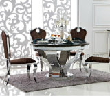 上の大理石が付いている家具のあたりで回る贅沢なデザイン