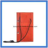 シンプルな設計のコードが付いているナイロン札入れ袋、昇進の多機能のギフトのお金のカード袋または財布袋