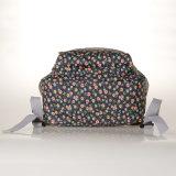 Sac à dos floral occasionnel de configuration de toile imperméable à l'eau de PVC (99133)