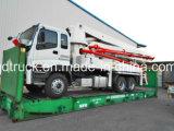 37m ISUZU de concrete vrachtwagen van de boompomp, de Vrachtwagen van de Concrete Pomp van de Boom