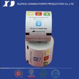 57mmx40mm Caisse enregistreuse Papier de papier thermique Papier géant Fleurs