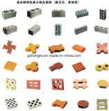 Construction Building Block Équipement de fabrication de briques