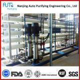 Planta de la ultrafiltración del uF del agua de la producción del RO