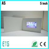 5 인치 IPS/HD 스크린 안부를 전하며를 위한 영상 인사장