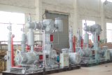 / Refrigeración por agua Min 40 bar Compresor de aire 6m3 100% sin aceite del compresor de aire para mascotas 15MPa-45MPa de alta presión del compresor de aire
