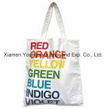 Выдвиженческий изготовленный на заказ многоразовый 100% органический мешок Tote покупкы хлопка