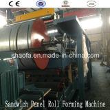 EPS het Blad dat van het Schuim van de Lijn van het Comité van de Sandwich van de Wol van de Rots de Fabrikant van de Machine maakt