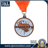 リボンが付いている顧客デザイン金属メダル