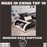 Meubles moyens L sofa de taille de forme avec le cuir de Tableau