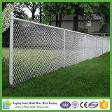 Heißer eingetauchter galvanisierter verwendeter Kettenlink-Zaun für Verkauf