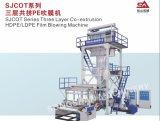 Máquina que sopla de la película del PE de la alta capacidad con la coextrusión de tres capas