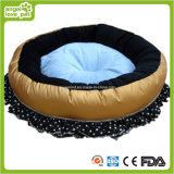Blumen-Entwurfs-hochwertigeres Haustier-rundes Bett