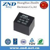 релеий 4pins крышки черноты релеего силы 3FF (T73) 20A 12V миниатюрное электромагнитное