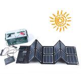 Carregador de bateria de carro solar portátil de 40W