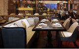 Disegni stabiliti del sofà di legno moderno nel rivestimento della quercia per l'hotel o il salone