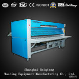 Plancha del lavadero industrial completamente automático de Flatwork Ironer del Doble-Rodillo (2500m m)